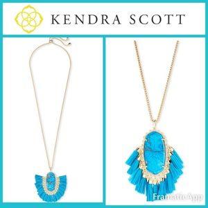 🆕💙KENDRA SCOTT Betsey Long Pendant Necklace